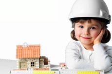 Little girl builder image